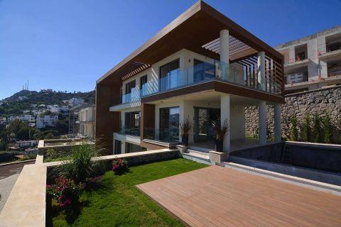 Utrolige luksusvillaer med havutsikt og privat basseng i Bodrum.