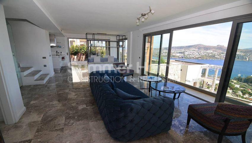 令人惊叹的土耳其博德鲁姆的带私人泳池的豪华海景别墅 interior - 4