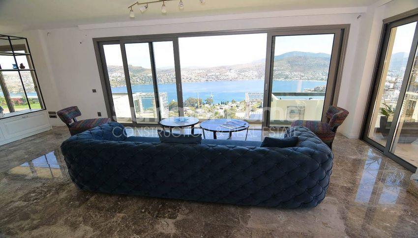 令人惊叹的土耳其博德鲁姆的带私人泳池的豪华海景别墅 interior - 5