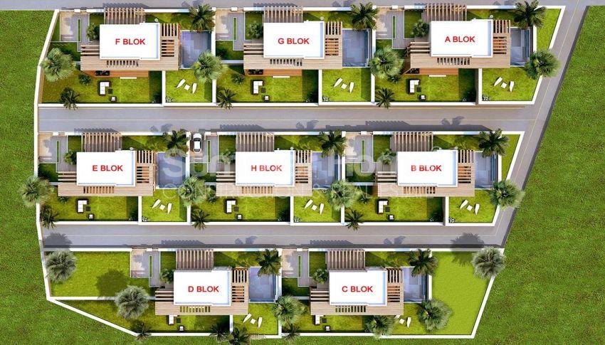 令人惊叹的土耳其博德鲁姆的带私人泳池的豪华海景别墅 plan - 1