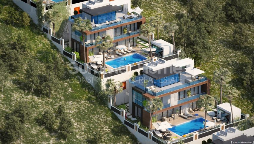 Summer Bliss Villas with Beautiful View in Alanya general - 1