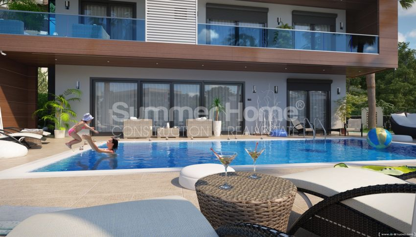 Summer Bliss Villas with Beautiful View in Alanya general - 4