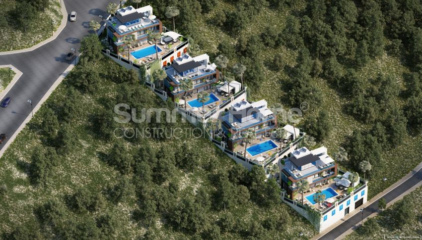 Summer Bliss Villas with Beautiful View in Alanya general - 13