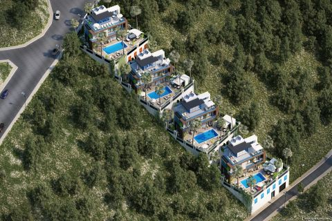 Summer Bliss Villas with Beautiful View in Alanya