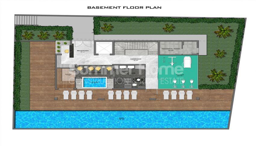 阿拉尼亚中心的全新公寓,位置理想 plan - 6