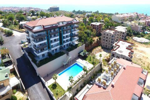 Exclusieve appartementen met een panoramisch uitzicht in Kestel, Alanya