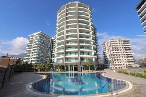 Luxe appartementen in een gloednieuw complex in Mahmutlar, Alanya