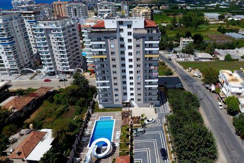 Eigentijdse appartementen in de populaire wijk Mahmutlar, Alanya
