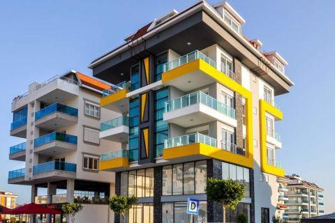 Günstige Wohnung mit unglaublicher Aussicht in Kestel, Alanya