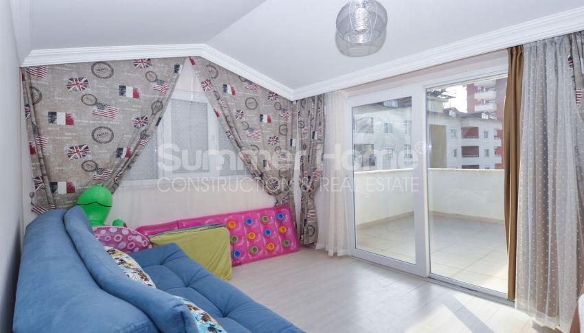 Duplex à prix raisonnable dans un quartier populaire Cikcilli à Alanya interior - 13
