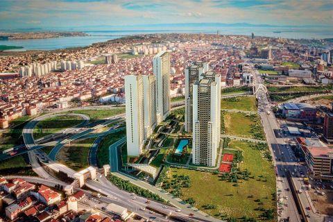 Nový, exkluzívny apartmánový projekt v časti Esenyurt, Istanbul