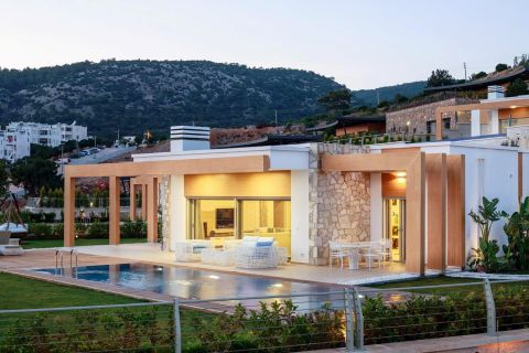Ultra-Modern Detached Villas with Panoramic View in Konacik, Bodrum