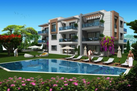 Economical Apartments with Incredible Mountain View in Bodrum