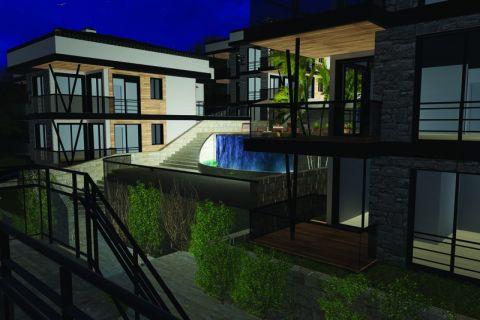 Nybyggda lägenheter i vackra omgivningar i Bodrum