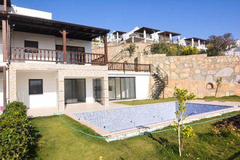 Ruime villa met spectaculair zeezicht in Bodrum