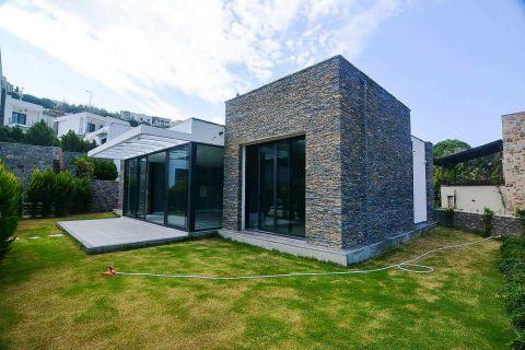 Elegante villa met prachtig uitzicht op de bergen in Bodrum