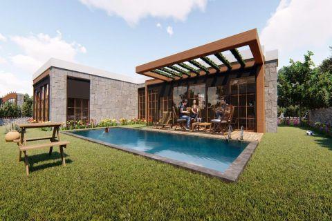 Nieuwe villa's in prachtige groene omgeving van Bodrum