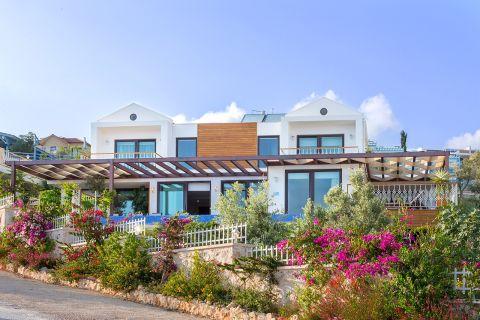 Duplex Villas with Fantastic Sea View at the Beachfront of Kalkan,Antalya