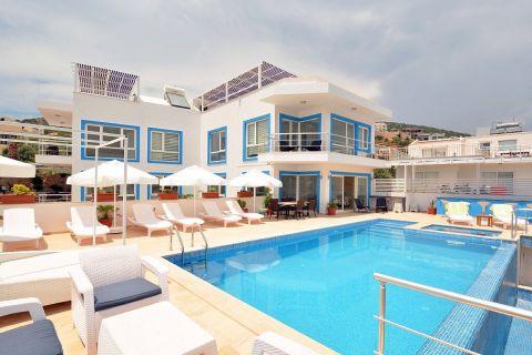 Extra Large Villa with Panoramic View Close to the Beach of Kalkan,Antalya