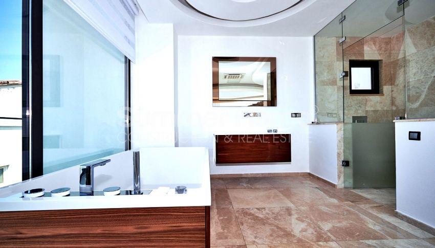 安塔利亚/卡尔坎山坡位置的设计独特的别墅,隐秘性好 interior - 6