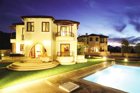 Wonderful Villas with Luxurious Design in Calm Environment of Northern Cyprus