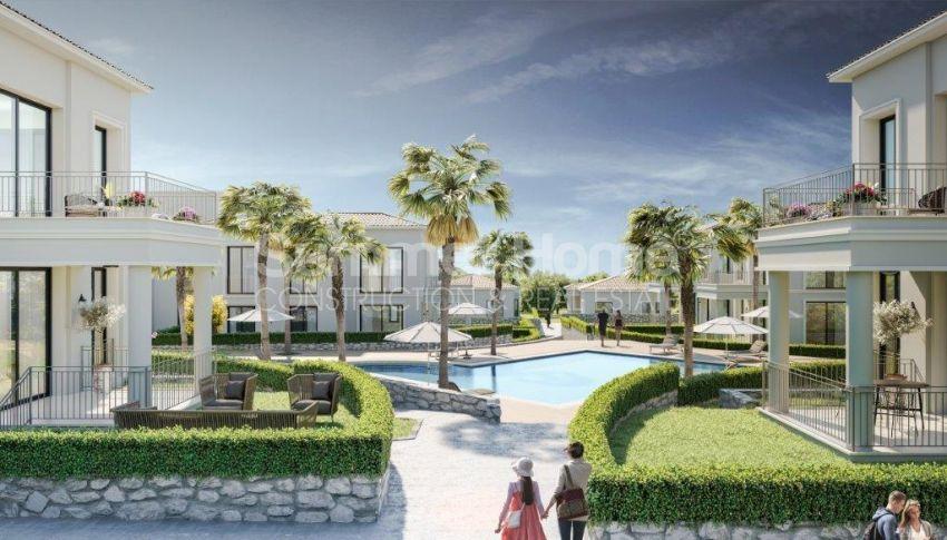 آپارتمان ها و ویلاها با نام تجاری جدید در محیط  سبز زیبا در قبرس شمالی general - 5