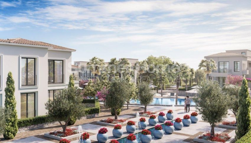 آپارتمان ها و ویلاها با نام تجاری جدید در محیط  سبز زیبا در قبرس شمالی general - 9