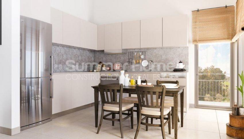 آپارتمان ها و ویلاها با نام تجاری جدید در محیط  سبز زیبا در قبرس شمالی interior - 12