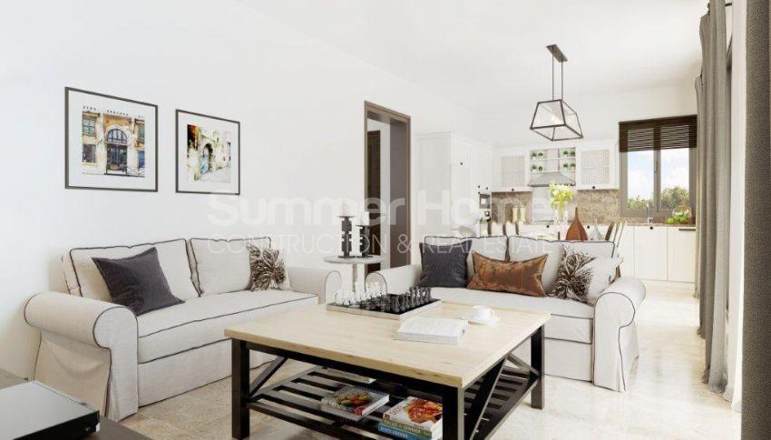 آپارتمان ها و ویلاها با نام تجاری جدید در محیط  سبز زیبا در قبرس شمالی interior - 13