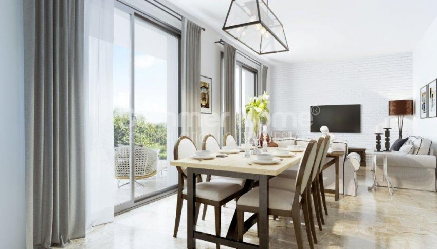 آپارتمان ها و ویلاها با نام تجاری جدید در محیط  سبز زیبا در قبرس شمالی interior - 14
