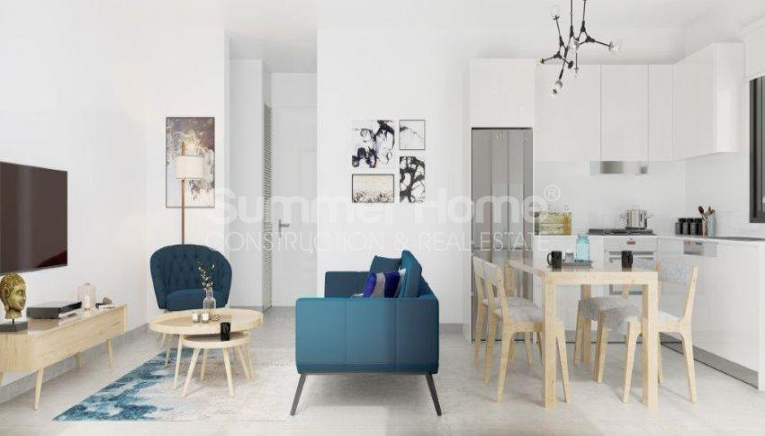 آپارتمان ها و ویلاها با نام تجاری جدید در محیط  سبز زیبا در قبرس شمالی interior - 20