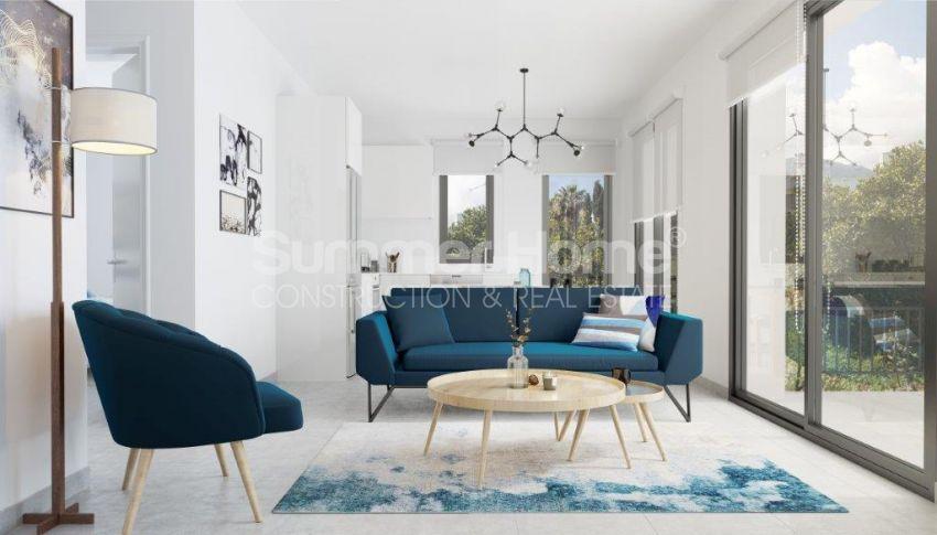 آپارتمان ها و ویلاها با نام تجاری جدید در محیط  سبز زیبا در قبرس شمالی interior - 21