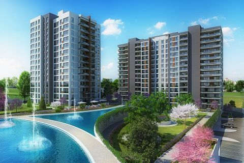 Quality Flats with Modern and Luxurious Design in the New Center of Istanbul