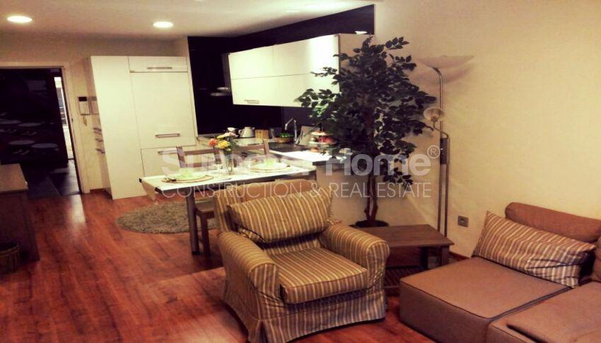 آپارتمان شیک با امکانات اجتماعی فراوان در مرکز بیلیکدوزو، استانبول interior - 15