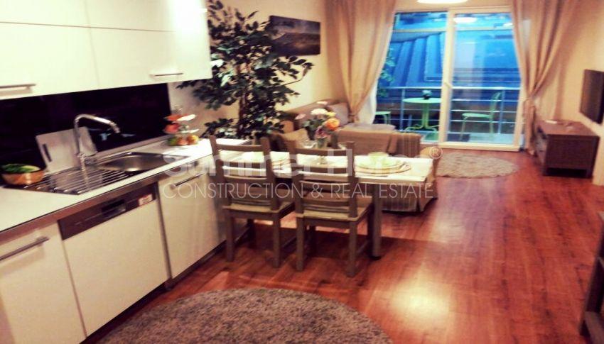 آپارتمان شیک با امکانات اجتماعی فراوان در مرکز بیلیکدوزو، استانبول interior - 18