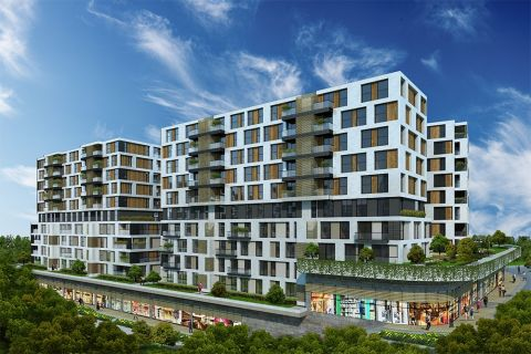 Luxurious Apartments Surrounded by Green Landscape on the West Coast of Istanbul