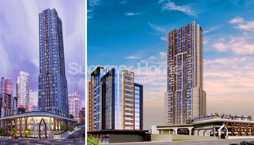 آپارتمان ها با قیمت مناسب و امکانات عمومی در استانبول مرکزی general - 2