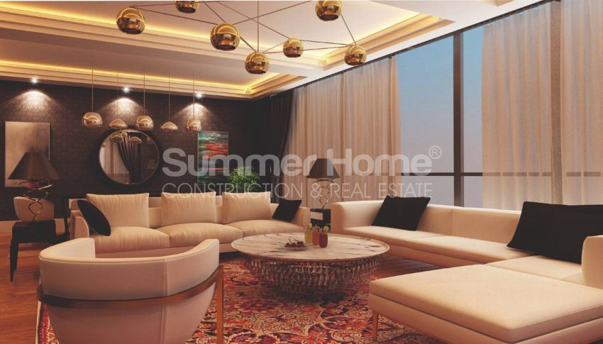 آپارتمان ها با قیمت مناسب و امکانات عمومی در استانبول مرکزی interior - 12