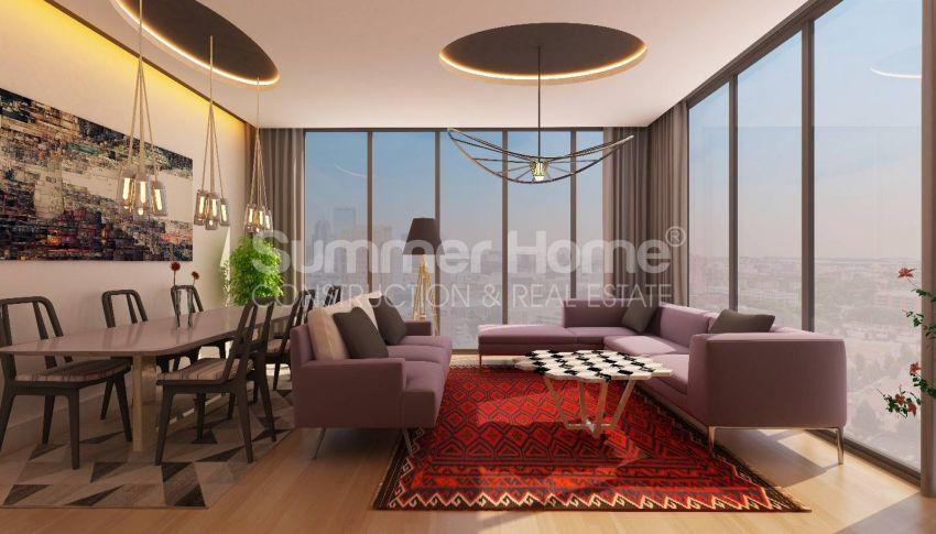 آپارتمان ها با قیمت مناسب و امکانات عمومی در استانبول مرکزی interior - 14