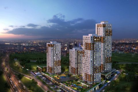 New Built Apartments with Low Cost in Great Location of Istanbul