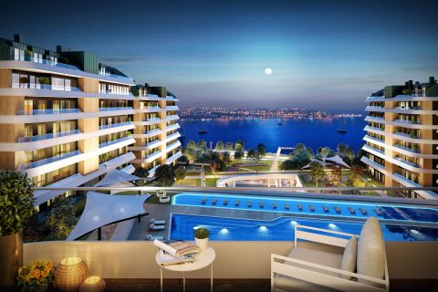 Modern Seaside Apartments Close to Everything in Istanbul