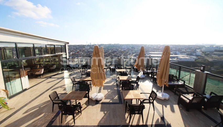 伊斯坦布尔的低价公寓,带城市景观 facility - 22
