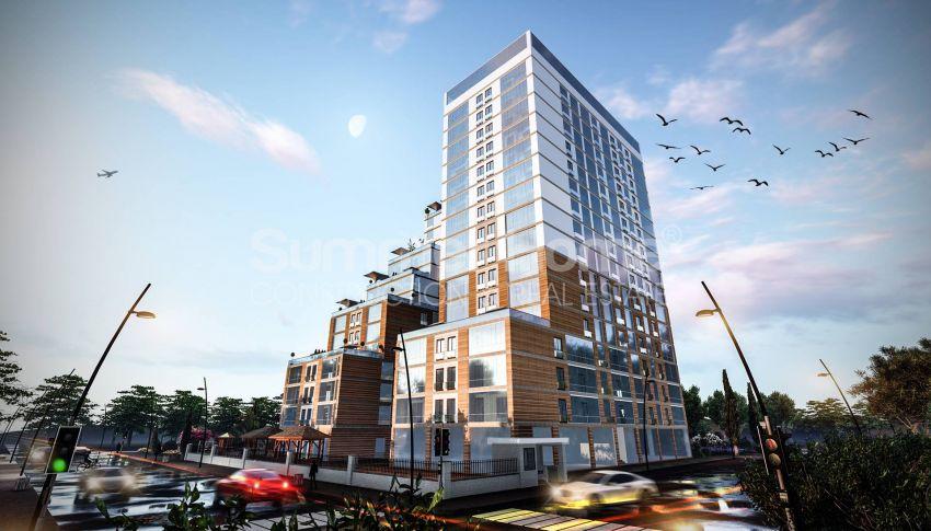 伊斯坦布尔的低价公寓,带城市景观 general - 2