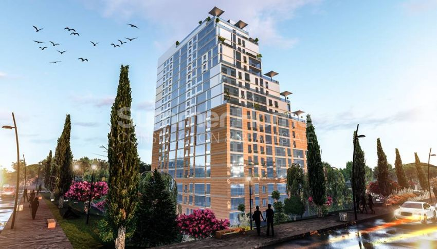 伊斯坦布尔的低价公寓,带城市景观 general - 3