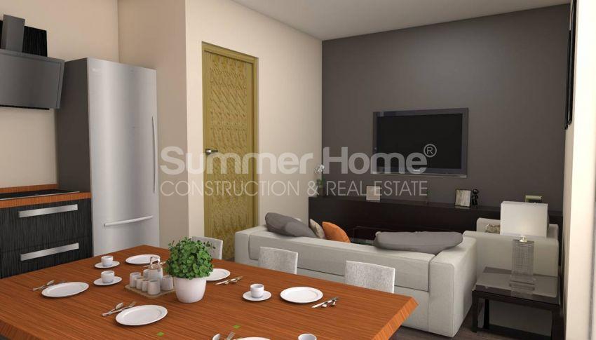 伊斯坦布尔的低价公寓,带城市景观 interior - 14