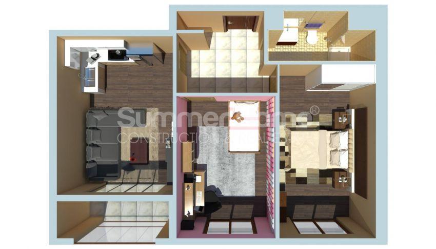 伊斯坦布尔的低价公寓,带城市景观 plan - 4