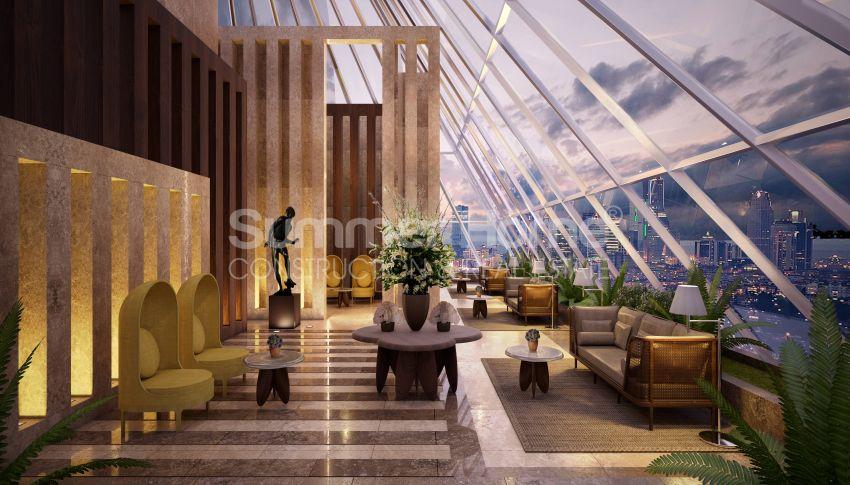 伊斯坦布尔市中心的设计豪华的城市美景公寓 general - 1