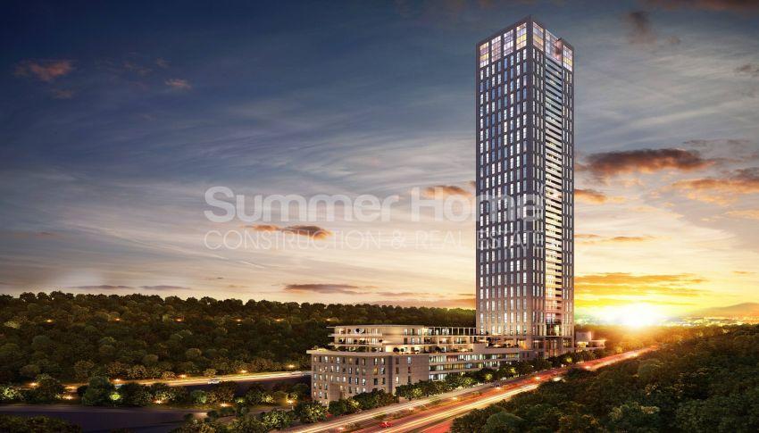 伊斯坦布尔市中心的设计豪华的城市美景公寓 general - 3