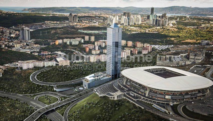 伊斯坦布尔市中心的设计豪华的城市美景公寓 general - 5