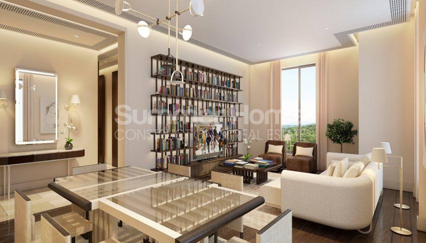 伊斯坦布尔市中心的设计豪华的城市美景公寓 interior - 9